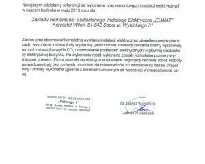Referencje-Wspólnota Mieszkaniowa